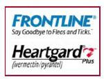 Frontline & Heartgard
